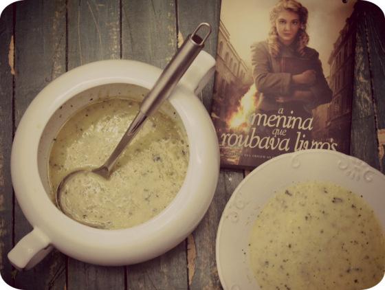 Sopa de Ervilha de A Menina Que Roubava Livros
