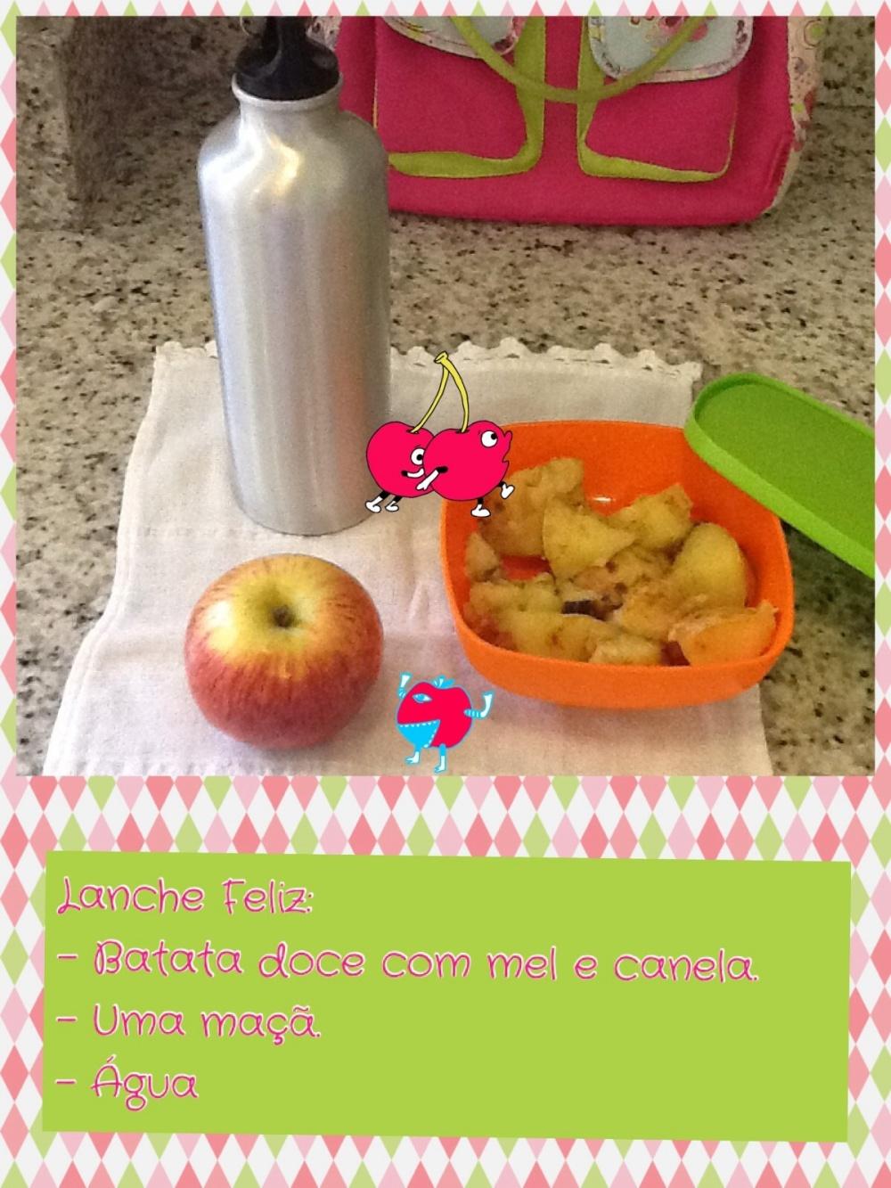 A lancheira da minha filha quando eu ainda tinha o prazer de determinar o que ela comia na escola.